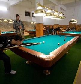 Billiards Open competion